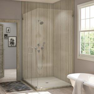 2 Panel Corner Shower in Athens