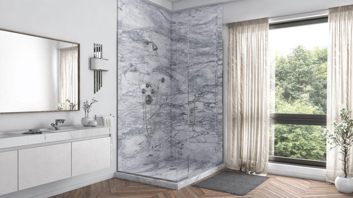 2 Panel Shower in Everest