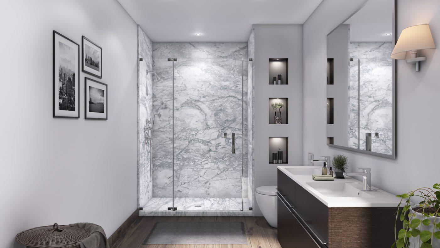 3 Panel 48 Shower in Everest